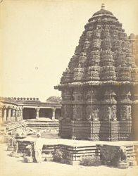 Temple at Somnath-pur 51243